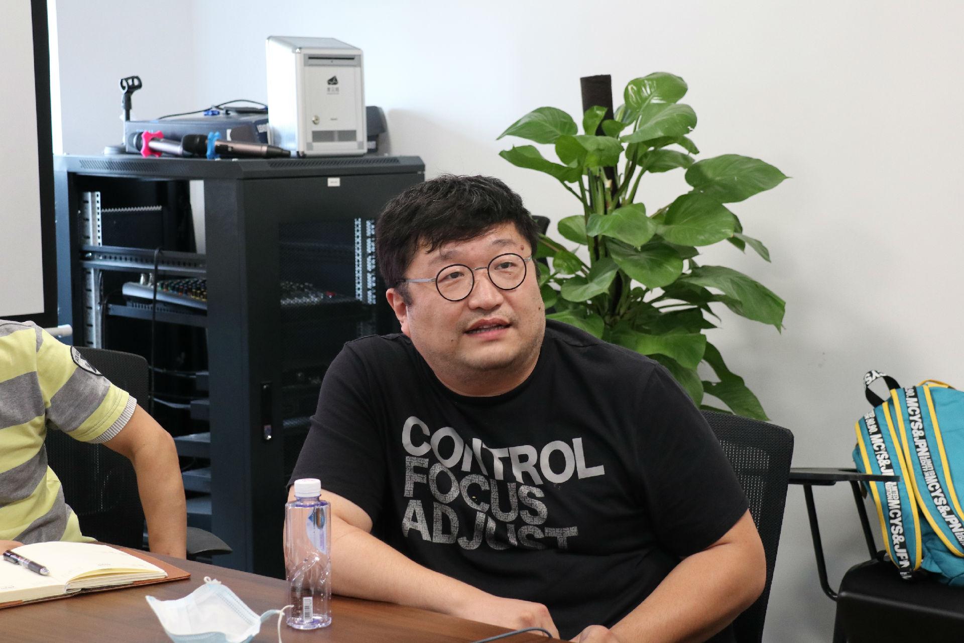 共学习,促交流,助发展——张浩淼先生莅临高阳捷迅指导交流
